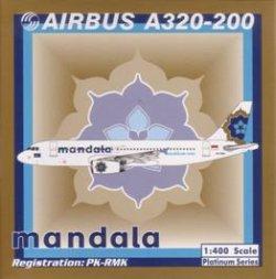 画像1: A320-200 マンダラ航空
