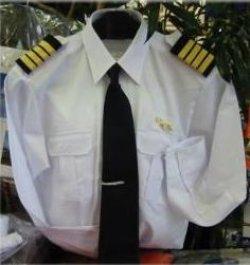 画像1: パイロットシャツ 半袖