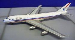 """画像1: Big Bird 1/500 B747-100 United """"747 Friend Ship"""" [N4732U]"""