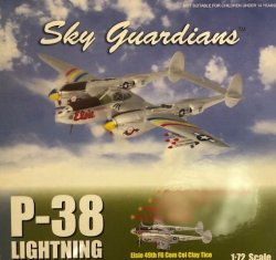 "画像1: Witty Wings 1/72 P-38 Lightning ""Elsie 49th FG COM Col Clay Tice"""