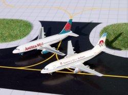 画像1: B737-200 [N126AW] & [N189AW] America West Airlines 2 Pack