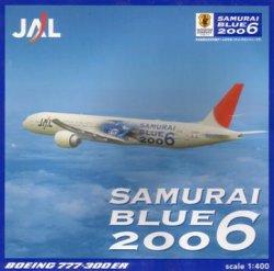 画像1: B777-300ER JAL SAMURAI BLUE 2006